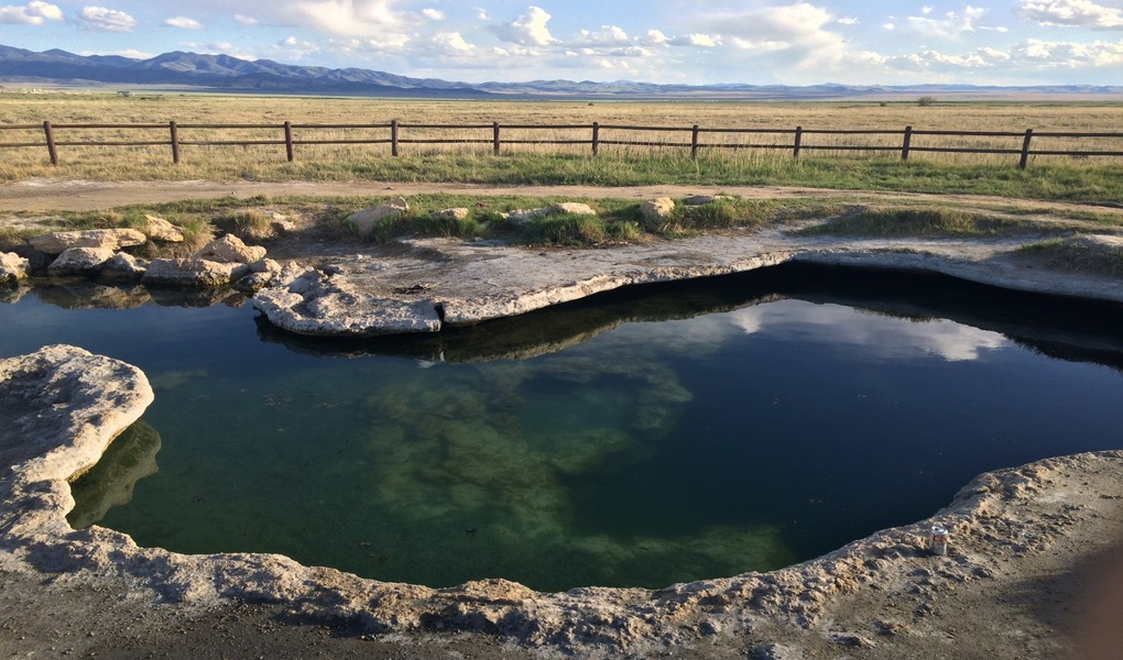 A Hot Spring in a Cow Pasture... Why Not?