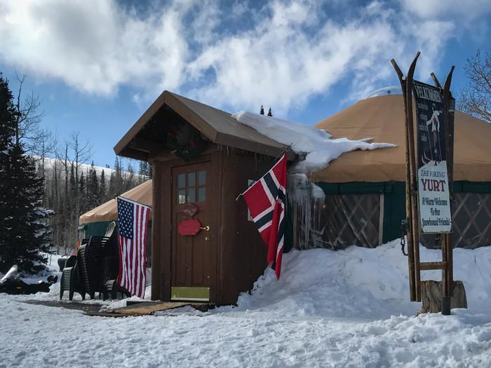 Viking Yurt Exterior