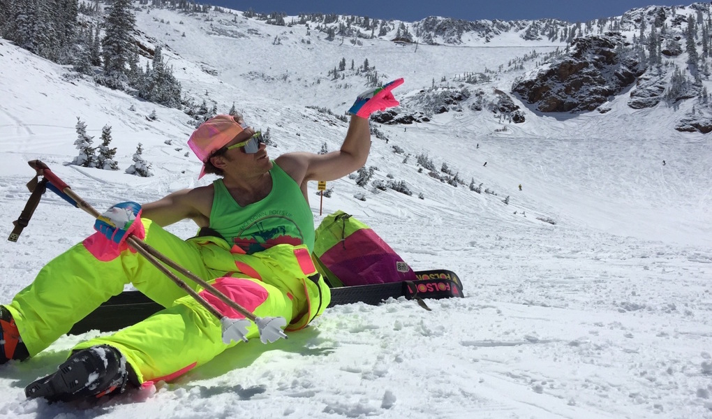 Spring Skiing Personified