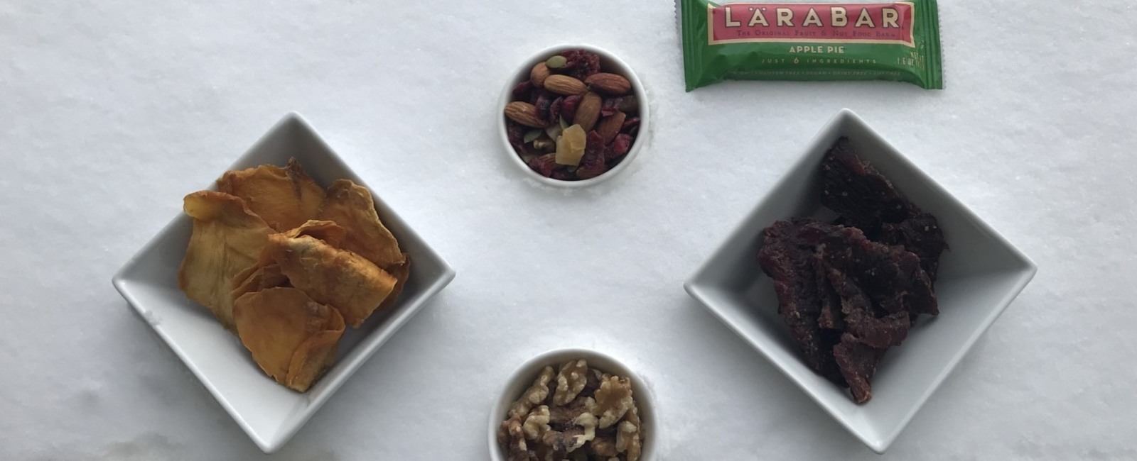 Packable/Pocketable Ski Snacks