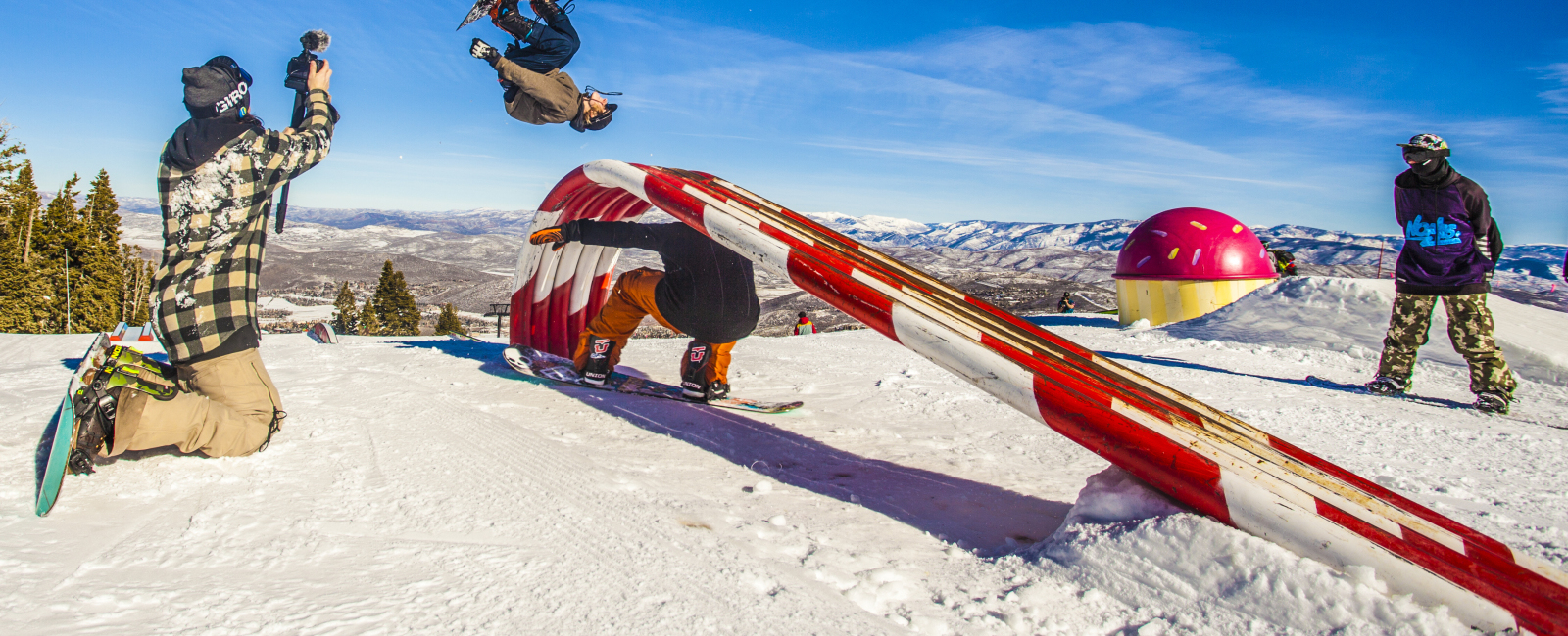 Park City Mountain Resort's Neff Land Park Edit