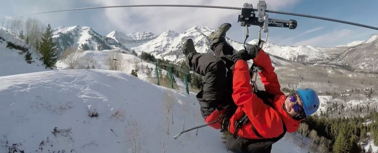the sundance zip line - ski utah