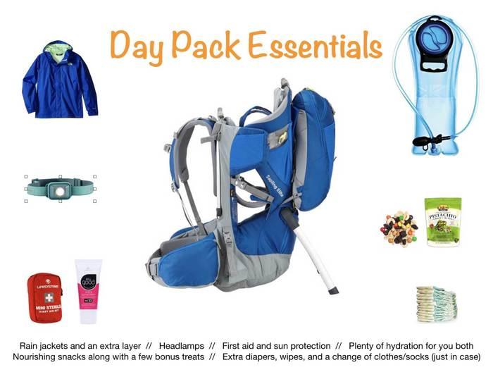 Day Pack Essentials