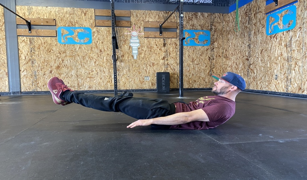 Hollow Hold: (ab work)