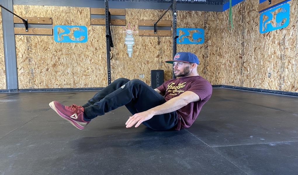 Sit Up/V-Up: (ab work)
