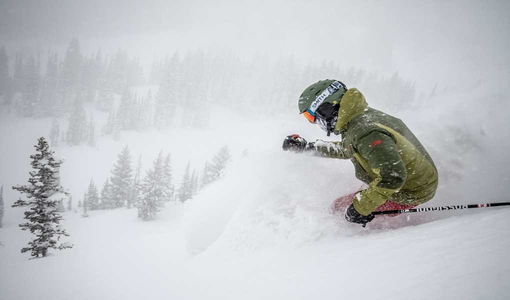Storming at Alta/Snowbird