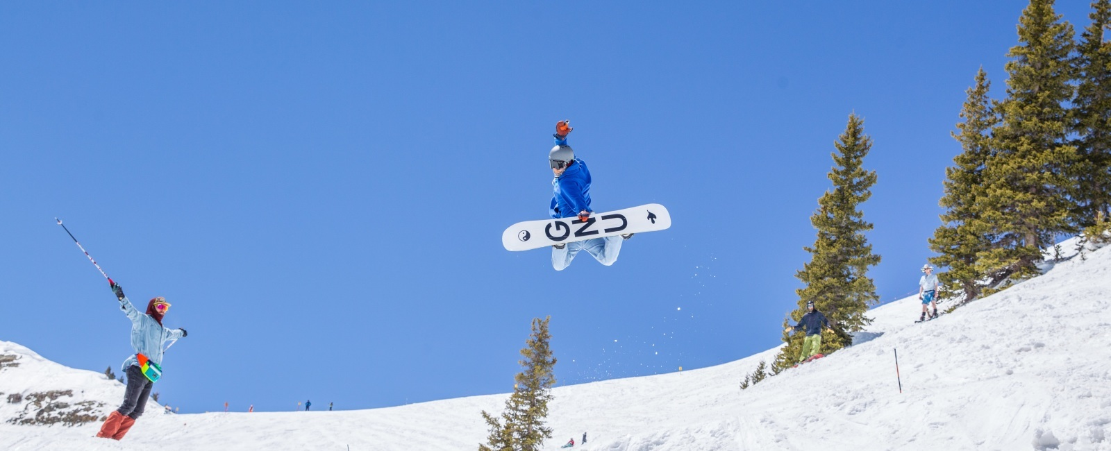 Skier Humbly Gives Snowboarding a Try