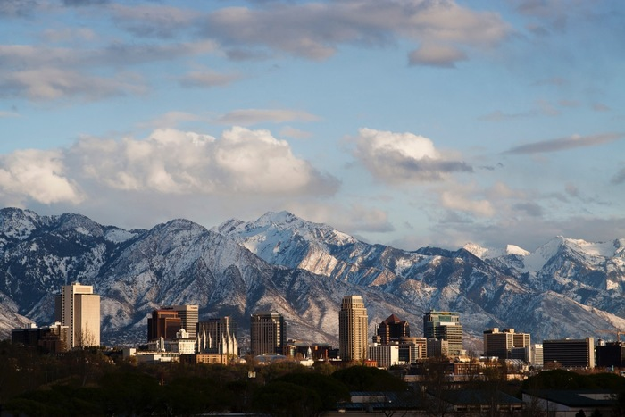 Salt Lake City Scape