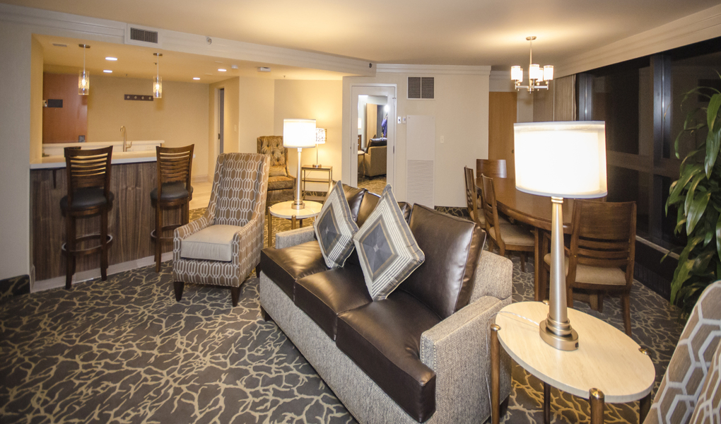 Remodeled Suite and Bar