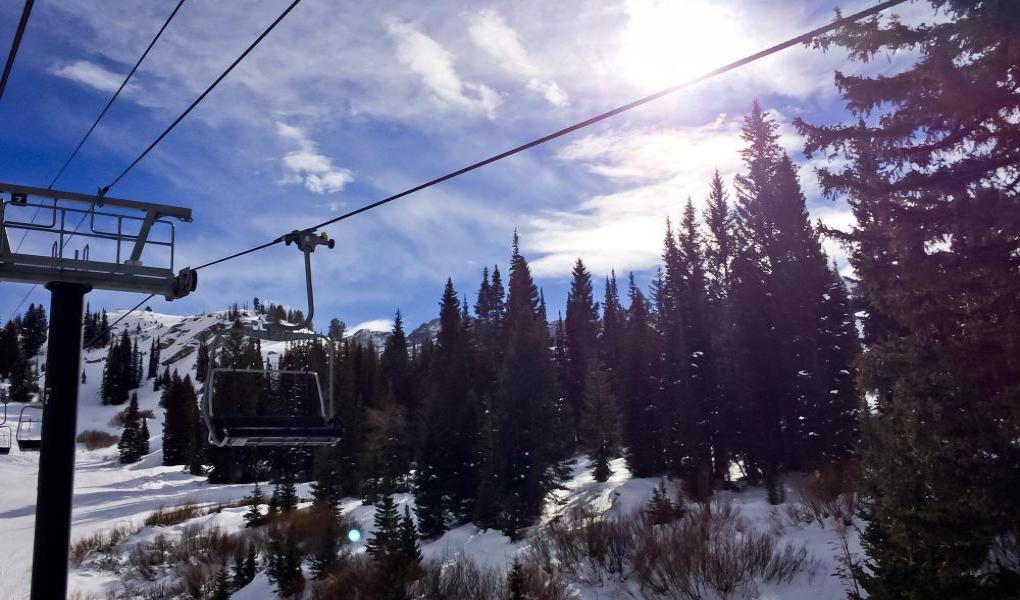 View from the Sunnyside Lift