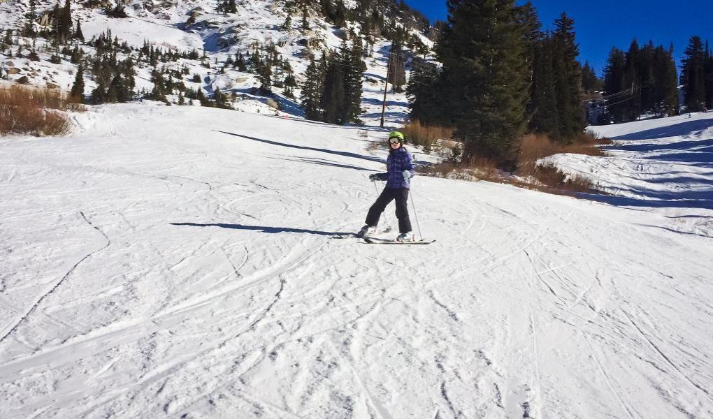 Alta Ski Area, Crooked Mile Run