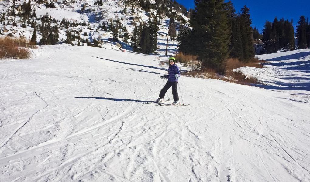 Alta Ski Area, Crooked Mile Run