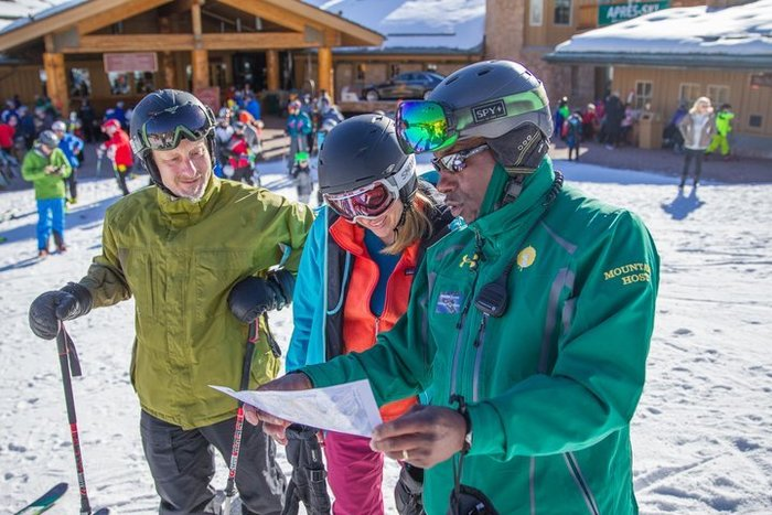 Starting the Deer Valley Mountain Host Tour
