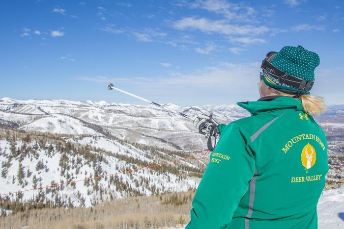 Learning the Mountains on the Deer Valley Mountain Host Tour