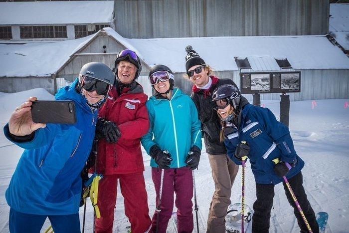 First let me take a selfie - Historic Ski Tour Park City