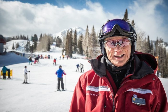 Our Mountain Host Sandy Melville - Historic Ski Tour Park City