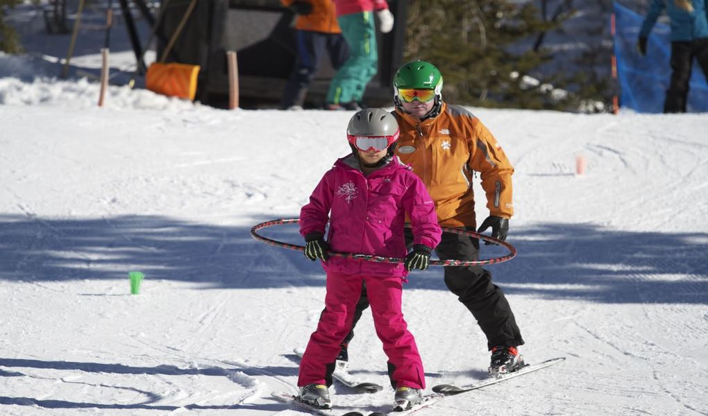 Learning to Ski Kid