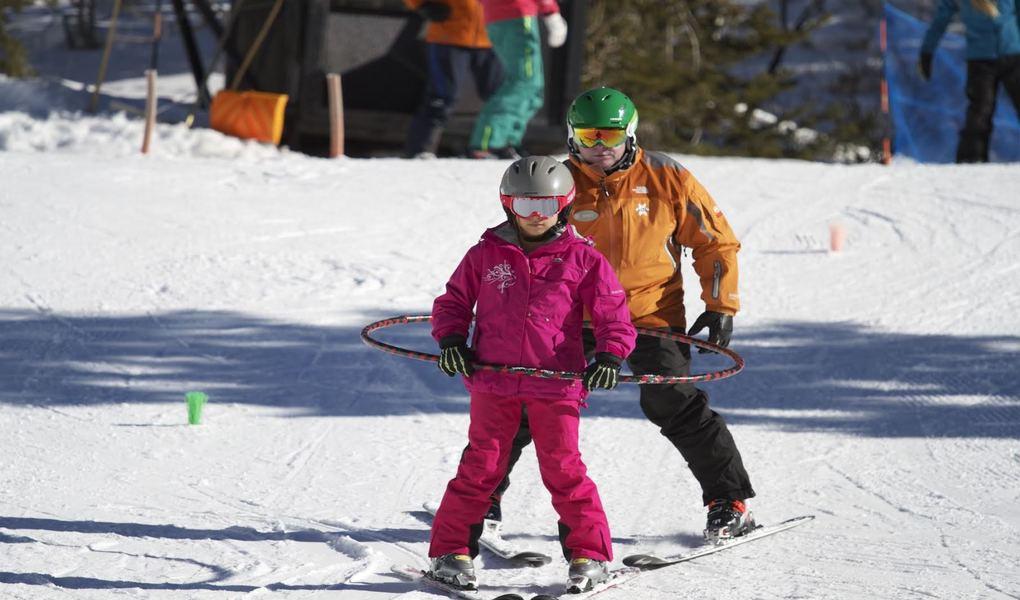Learning to Ski Kid
