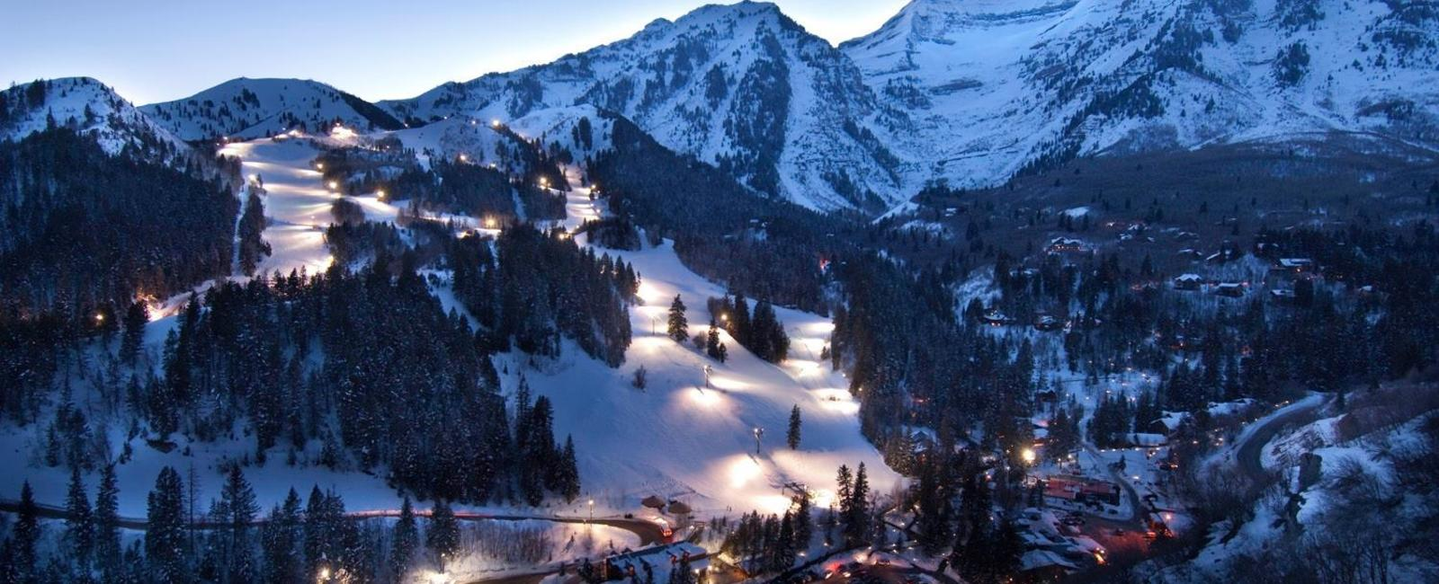 night skiing: sundance resort leaves the lights on - ski utah
