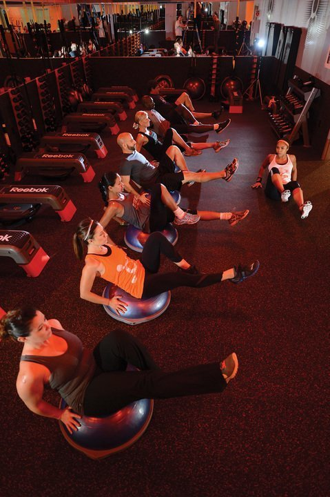 Group Fitness Classes on Ski Vacation - Orange Theory