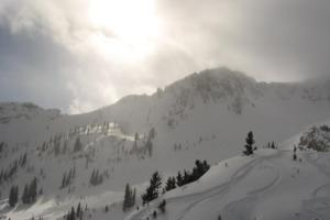 Going Deep in Mineral Basin at Snowbird thumbnail