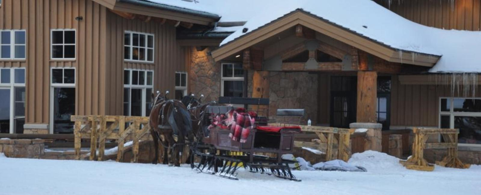 Fireside dining and a sleigh ride at Deer Valley