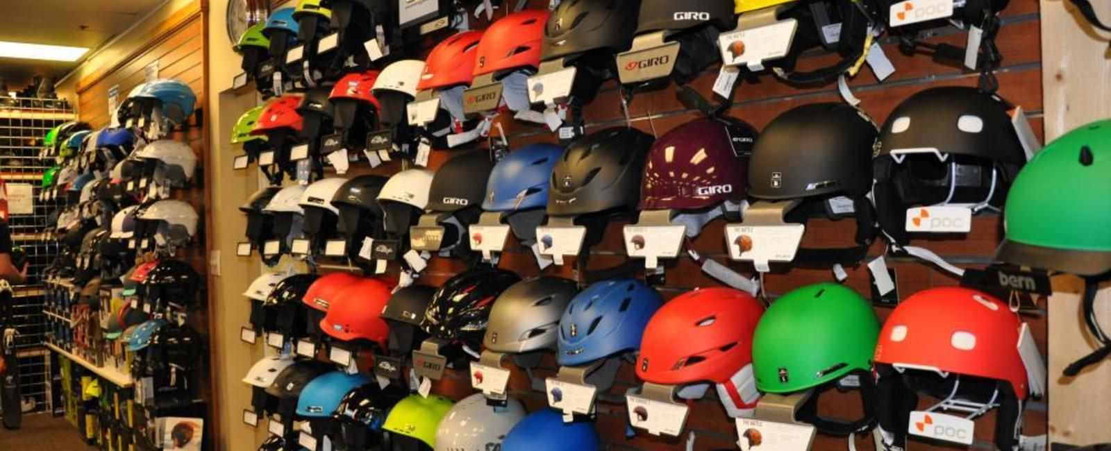 Helmets are a MUST...finding the right fit for you and your kids