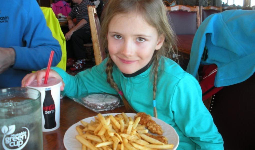 Kids portion meals