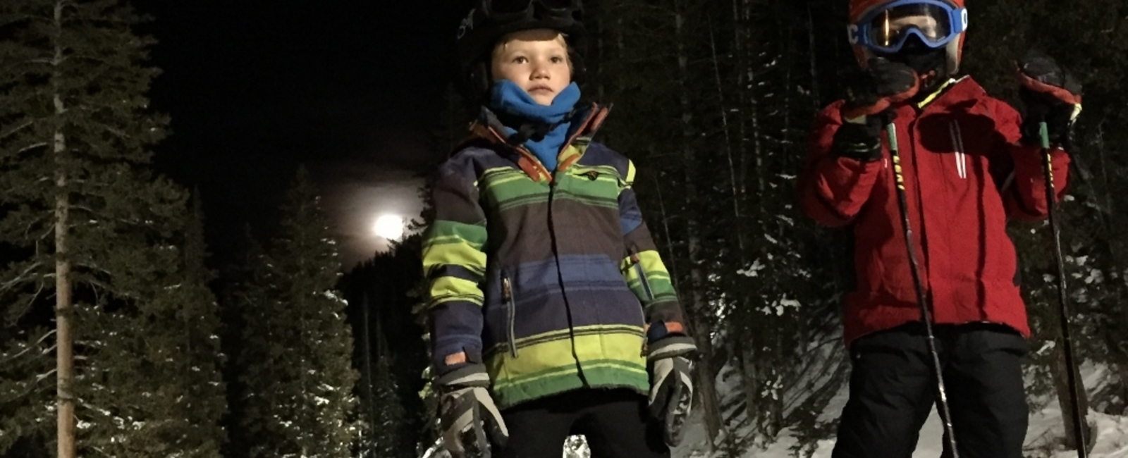 Night skiing....enjoy the silence!