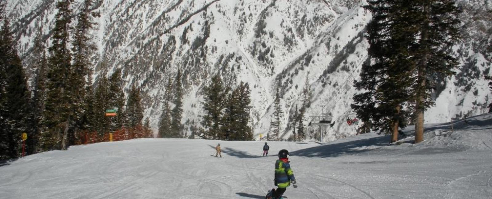 Skiing Snowbird with Kids
