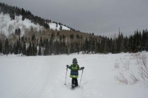 Snowshoeing with Kids in Utah at Silver Lake thumbnail