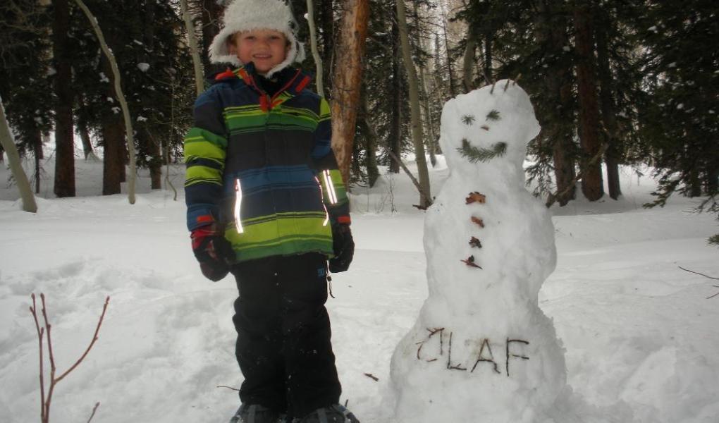 Olaf comes to life