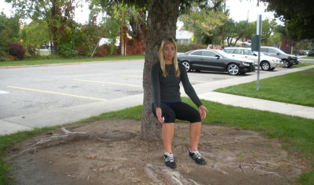 Wall Sit, I mean Tree Sit