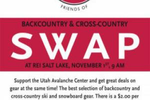 Utah Avalanche Center Gear Swap thumbnail