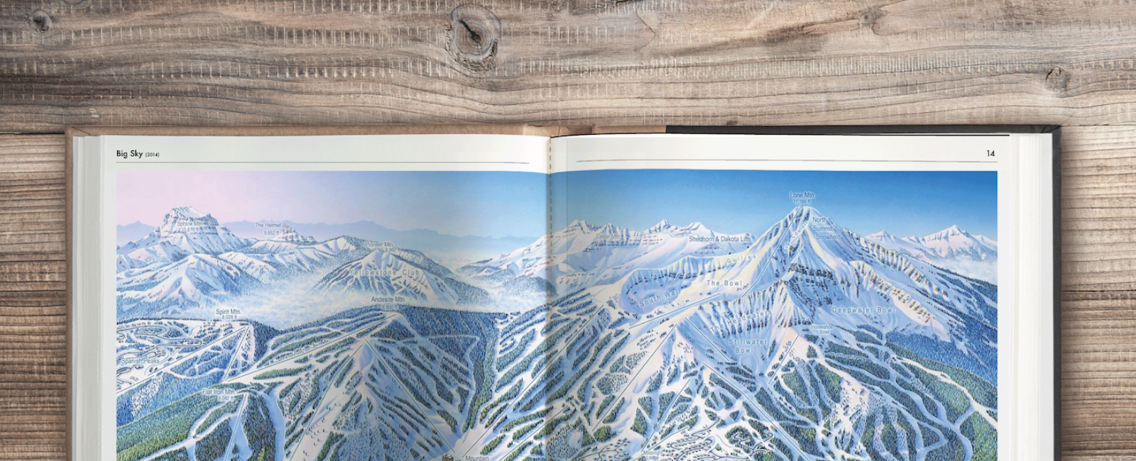 Astonishing Success on Kickstarter Campaign Launched by Iconic Ski Map Painter, James Niehues