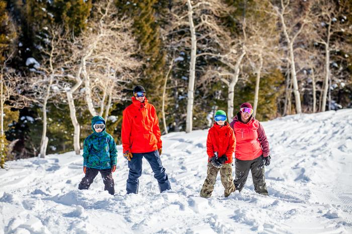 Family at Beaver Mountain