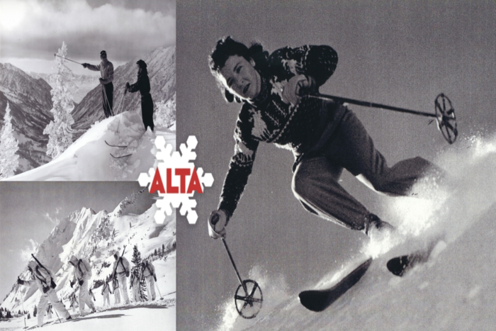 Ski Utah Resort Histories | Alta Ski Area