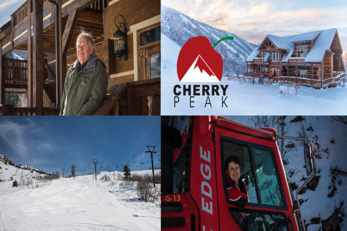 Ski Utah Resort Histories | Cherry Peak