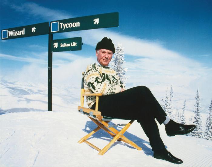 Edgar Stern Portrait on Snowjpg