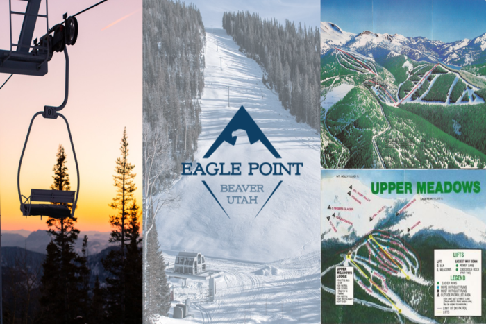 Ski Utah Resort Histories | Eagle Point Resort