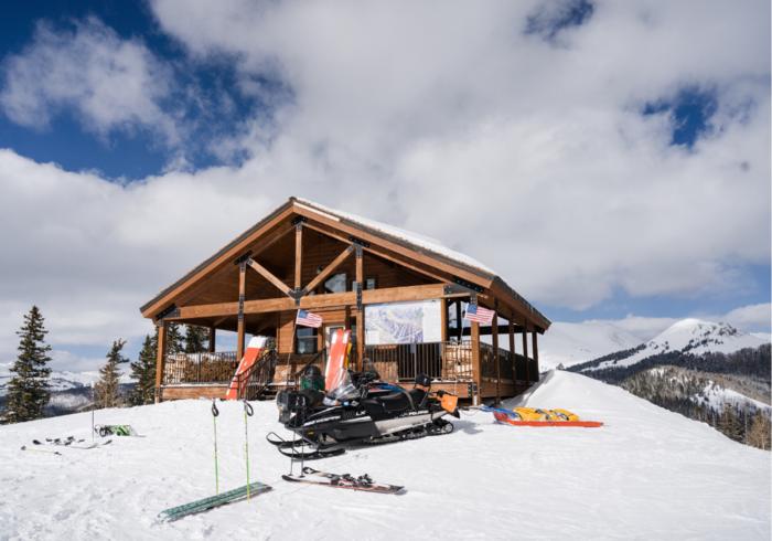Ski Utah Article - Lookout Hutpng