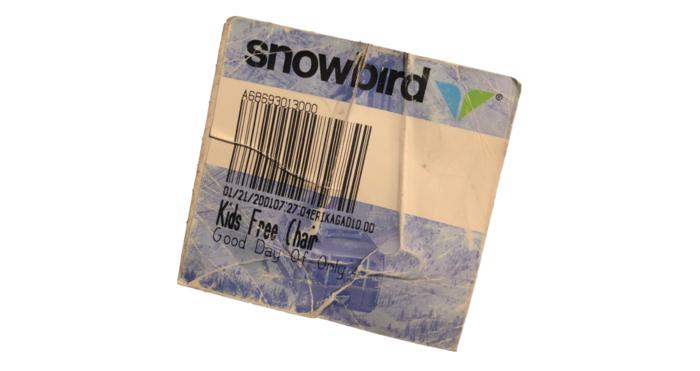 Ski Utah Article Image - Vintage Ticketpng