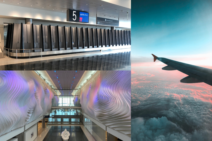 The New Salt Lake City International Airport Is Built For Skiers & Snowboarders
