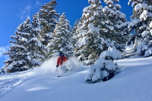 Backcountry Skiing on the Park City Ridgeline thumbnail