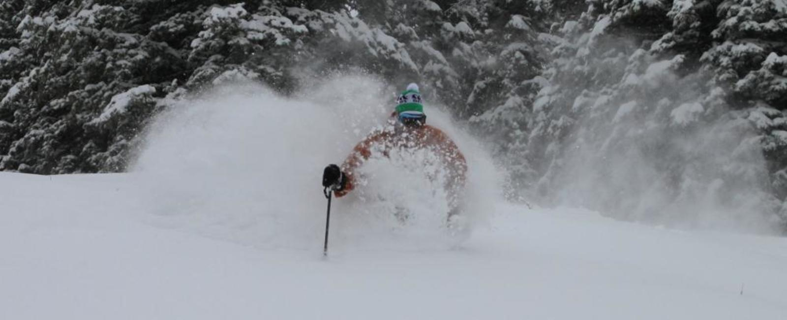 First Powder Turns of the Season!