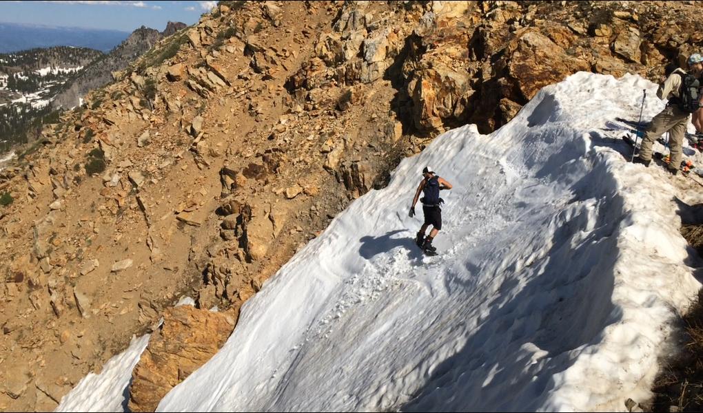 Snowboarding Alta