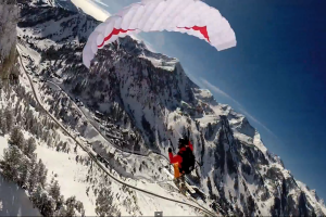 Speed Flying Little Cottonwood Canyon thumbnail