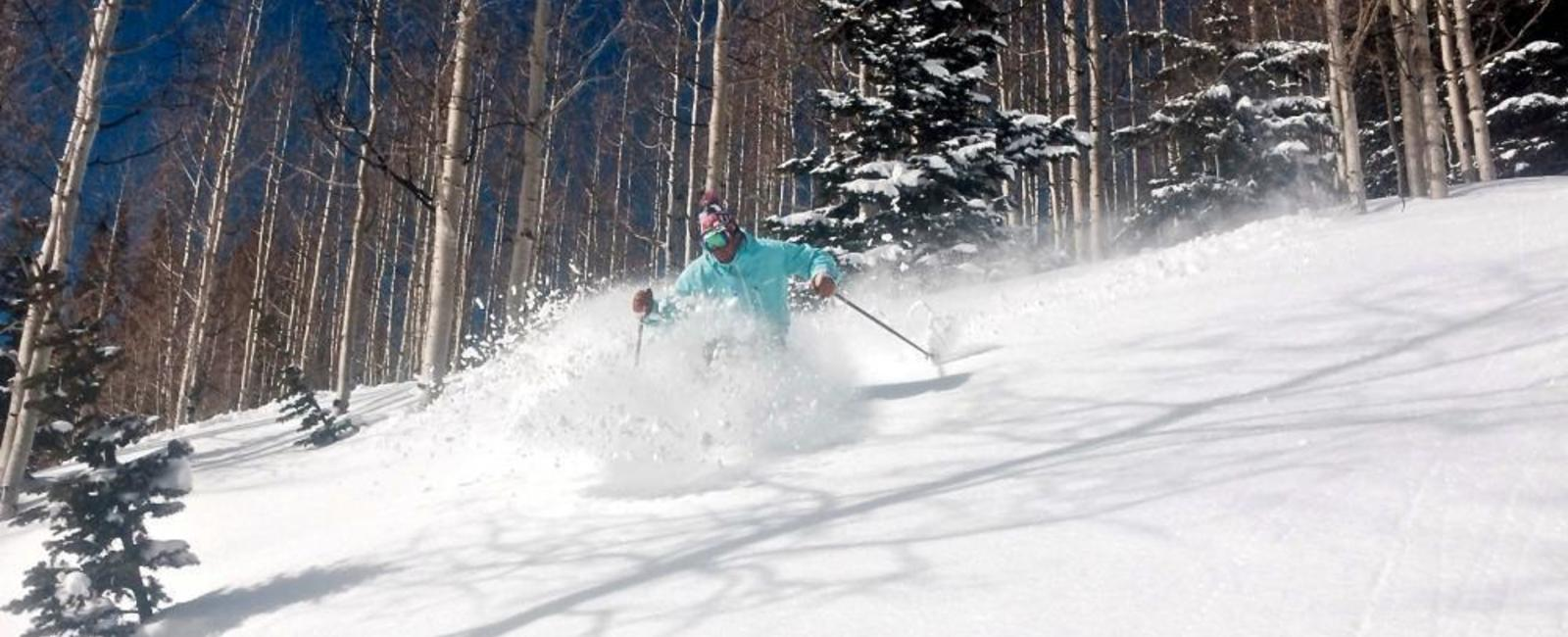Spring Powder Day at Park City Mountain Resort