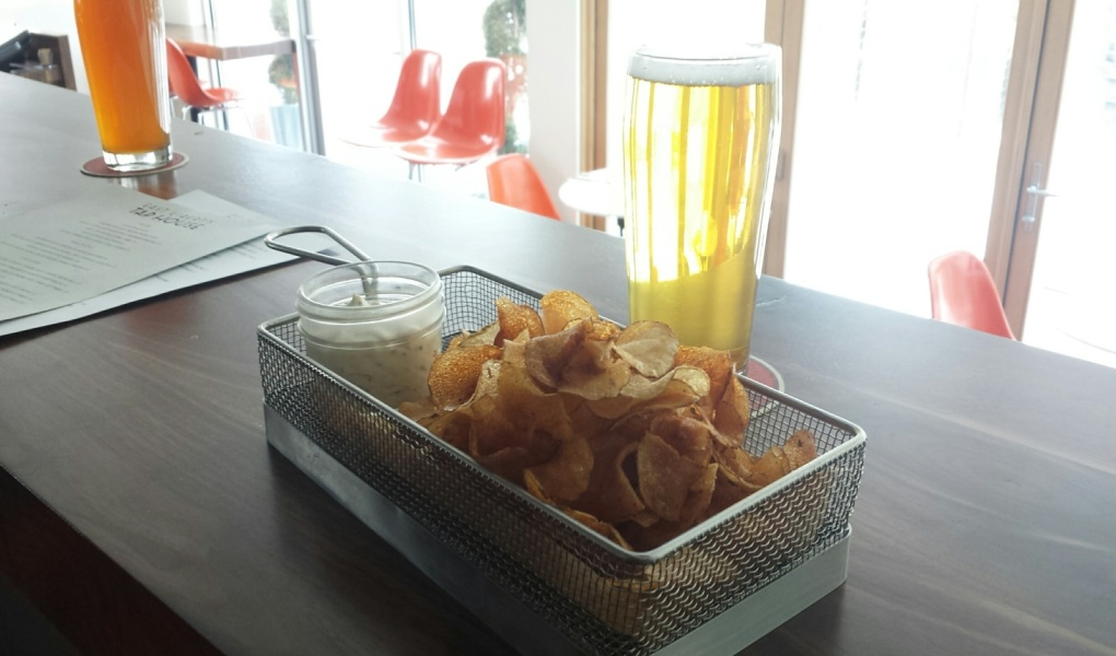 Chips n' Dip at East Libery Tap House.
