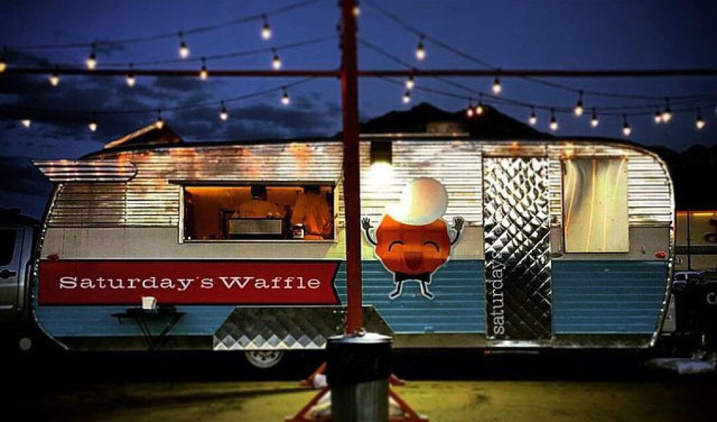 Saturday's Waffle wagon